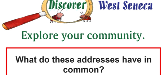 worksheet of addresses