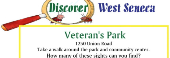 Activity worksheet Veterans Park